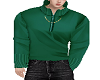 Y GREEN SWEATER