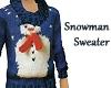 Snowman Sweater