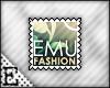 [E] Emu Fashion Stamp