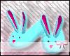 ** bunnie slippers >blue