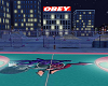 BASKETBALL COURT NIGHT