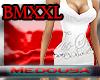 !M BMXXL White knit drs