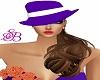(SB) Classy Purple Hat