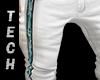 Hawaiian White Shorts