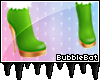 [BB] Winter Shoes Green