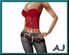 (A) Retro Top&Jeans