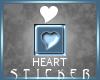 LetterHeart-2Sticker*me*