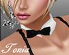 (T) Playboy Bow tie blac