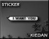 [KG] I Want You