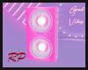 Good Vibes Pink Speakers
