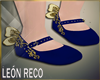 � Shoes Blue Kid