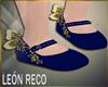 ♣ Shoes Blue Kid
