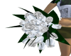 Silver White Bouquet