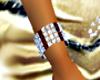 DIAMOND/RUBY BRACELET(L)