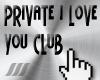 ///P.I Love You Club