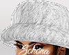 ṩFur Hat White