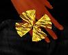 Gold clover Ring