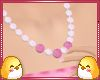 Necklace Pearl Pink