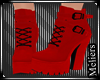 Abner Ankle Boots Red