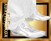 [L] White Boots Male