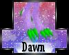 [EP]Scarlet Claws Feet M
