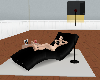 (V)black chaise delux