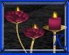[K] Rose Candles Mauve