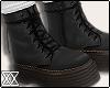 ☾ Combat boots+socks