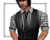 LKC Shirt and Vest Grey