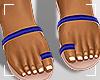 ṩJae Sandals Navy