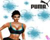 (DD) puma top blue