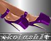 K*Shoes purple platforms