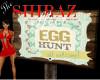 Vintage Egg Hunt Sign