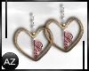 *az*love earrings