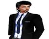 ~N~ Blk Jacket Blue Tie