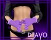 |D| Kawaii Gloves Purp