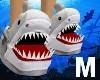 Baby Shark Slippers M