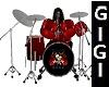 Rock n Drums Red animate