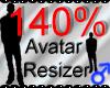 *M* Avatar Scaler 140%
