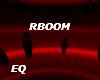 EQ Red Set Boom DJ