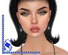 *S* Earrings_Gunmetal