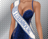 Miss Luxembourg sash