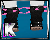 Pink Ankle Spikes