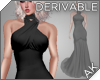~AK~ Long Halter Gown