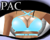 *PAC* Strapped Top Blue