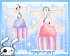 Cupcake Earrings Drv