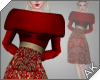 ~AK~ Winter Dress: Red