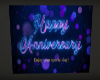 Happy Anniversary Sign