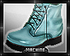 < Machine . Blue . Boot>