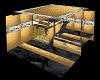 gold n black apartment